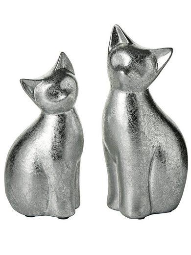 heine home Deko-Artikel Katzen, 2er-Set