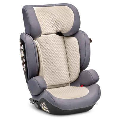 ABC Design Autokindersitz »Mallow - Fashion Edition - Stone«, 7.2 kg, (1-tlg), Gruppe 2/3 Kinder Autositz - ab 3 -12 Jahre (15-36 kg)