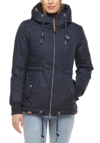 Ragwear Funktionsjacke »DANKA« kuscheliger Winter Streetwear-Stlye