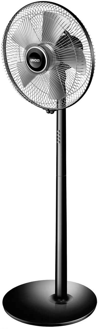 Unold Standventilator Silverline Black 86825