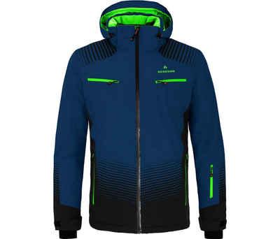Bergson Skijacke »TAAVI« Herren Skijacke, wattiert, 20000 mm Wassersäule, Normalgrößen, dunkel blau