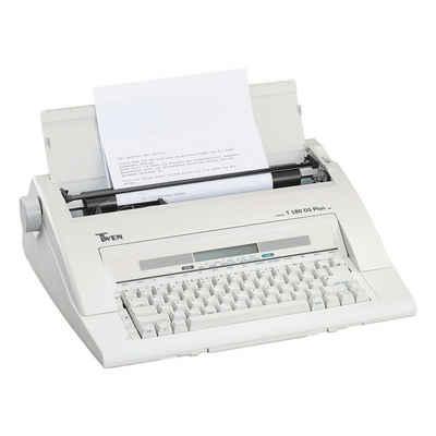 TWEN Schreibmaschine »T 180 DS plus«, portabel, Speicher für 50 Dateien
