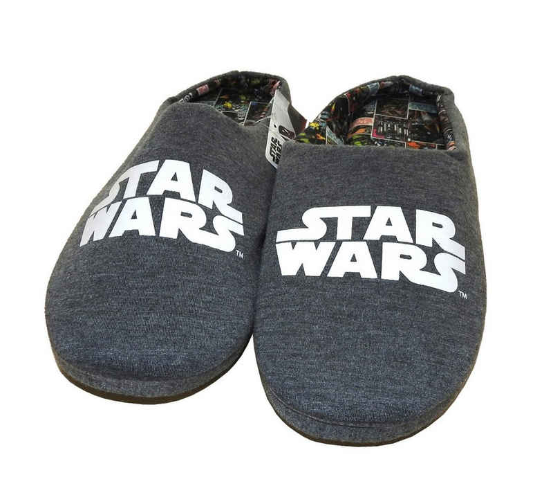 Star Wars Hausschuh Pantoffel rutschfest Schlappen Pantolette Slipper Puschen