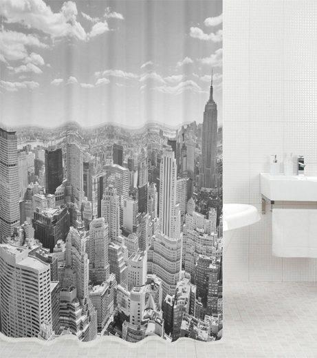 SANILO Duschvorhang »Skyline New York«, 180 x 200 cm