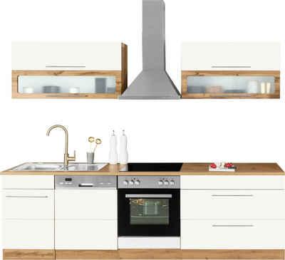 HELD MÖBEL Küchenzeile »Wien«, mit E-Geräten, Breite 270 cm