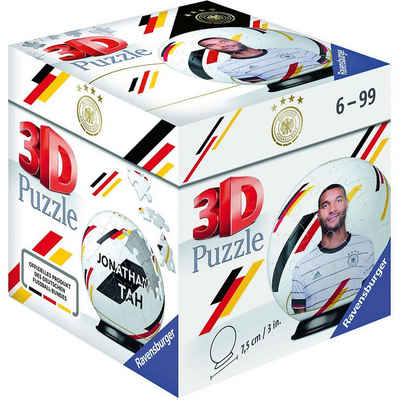 Ravensburger 3D-Puzzle »Puzzle-Ball DFB Spieler Jonathan Tah EM20, 54«, Puzzleteile