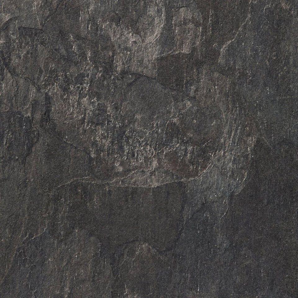 BODENMEISTER Packung: Laminat »Fliesenoptik Schiefer dunkel-grau«, 60 x 30  cm Fliese, Stärke: 8 mm online kaufen   OTTO