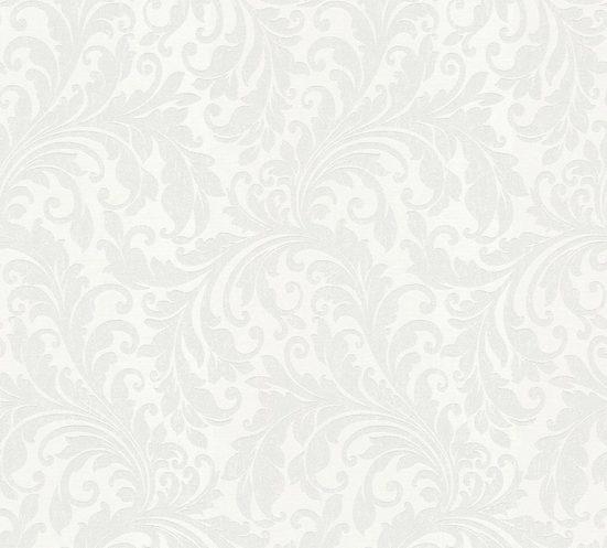 living walls Textiltapete »Di Seta«, samtig, floral, leicht glänzend, ornamental, Barock, (1 St), samtig