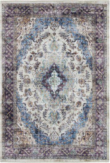 Teppich »Keshan Sami«, NOURISTAN, rechteckig, Höhe 7 mm, Orient-Optik