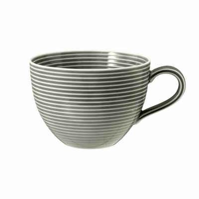 Seltmann Weiden Tasse »Beat Perlgrau 350 ml«, Porzellan