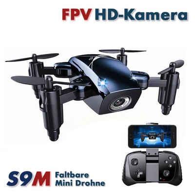 efaso RC-Helikopter »EFASO RC Micro Quad S9M 2,4GHz 2MP Wifi HD-Kamera«