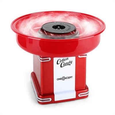 ONECONCEPT Zuckerwattemaschine Candyland 2 Retro-Zuckerwattemaschine 500W rot