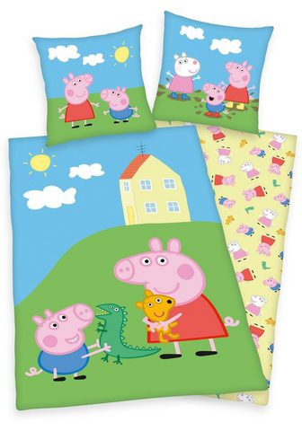 Kinderbettwäsche »Peppa Pig / Peppa Wu...
