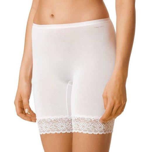 Mey Lange Unterhose »Lights« Long Pants - Ohne auftragenden Seitennähte, Längeres Bein, Breite elastische Spitze