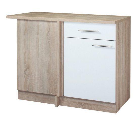 wiho Küchen Eckunterschrank »Montana« Breite 110 cm