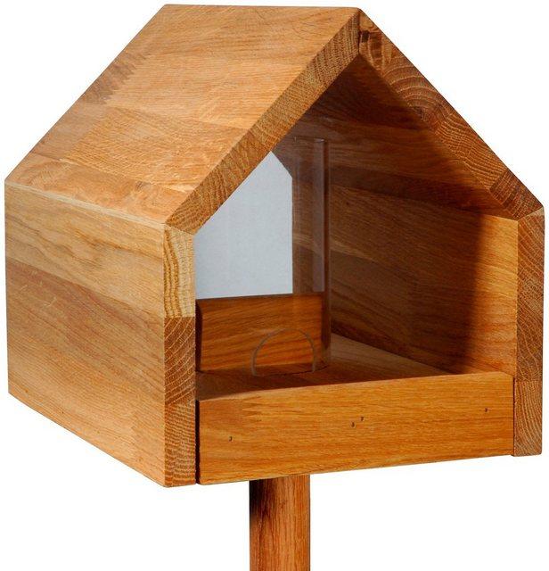 LUXUS-VOGELHAUS Vogelhaus   mit Standbein  BxTxH: 28x20x183 cm   Garten > Tiermöbel > Vogelhäuser-Vogelbäder   LUXUS-VOGELHAUS