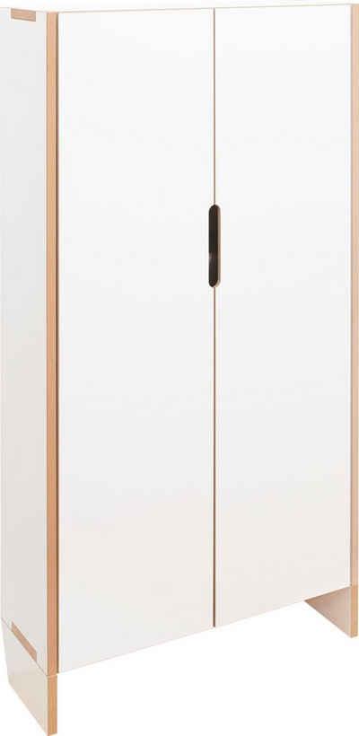 Tojo Mehrzweckschrank »flachmann klein« Höhe 130,8 cm