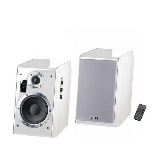 Heco Ascada 2.0 Weiß, 1 Paar Regal-Lautsprecher