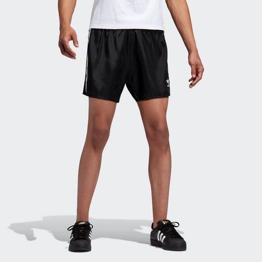 adidas Originals Shorts »Pride Trefoil Tape Shorts«