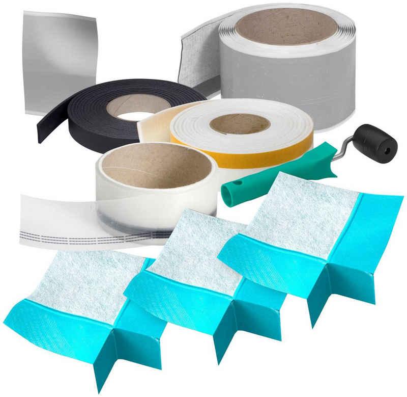 MEPA Wannenabdichtband »Aquaproof 3D Typ II«, (Komplett-Set, 9-St)