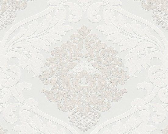 living walls Vliestapete »Bling Bling mit Glitzereffekt«, strukturiert, gemustert, glänzend, ornamental, (1 St), strukturiert