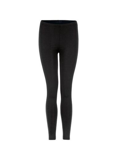 Trigema Leggings aus Polyester/Elastan