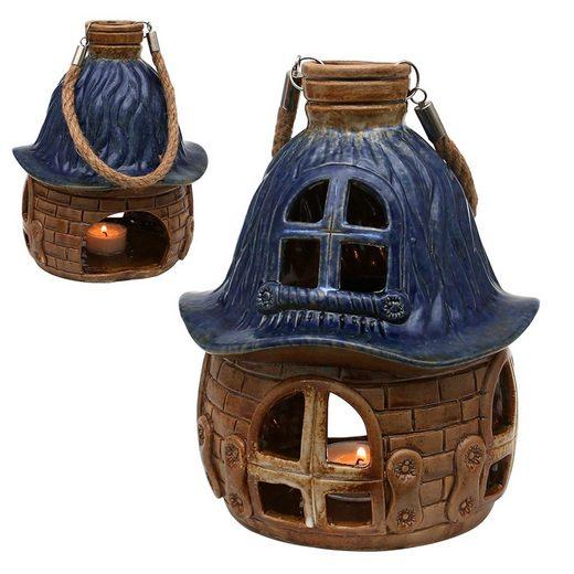 SIGRO Windlicht »Porzellan Windlicht Haus« (1 Stück)