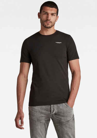 G-Star RAW Rundhalsshirt »Slim Base r T-Shirt«