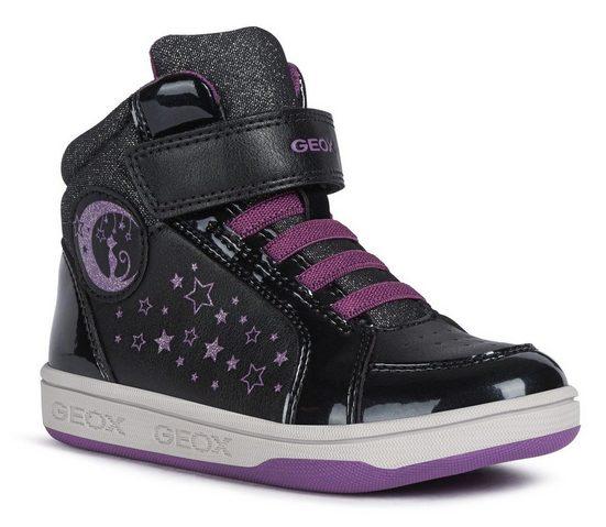 Geox Kids »MALTIN GIRL« Sneaker mit praktischem Klettverschluss