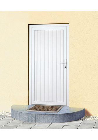 KM Zaun Haustür »K608P« BxH: 98 x 208 cm weiß ...