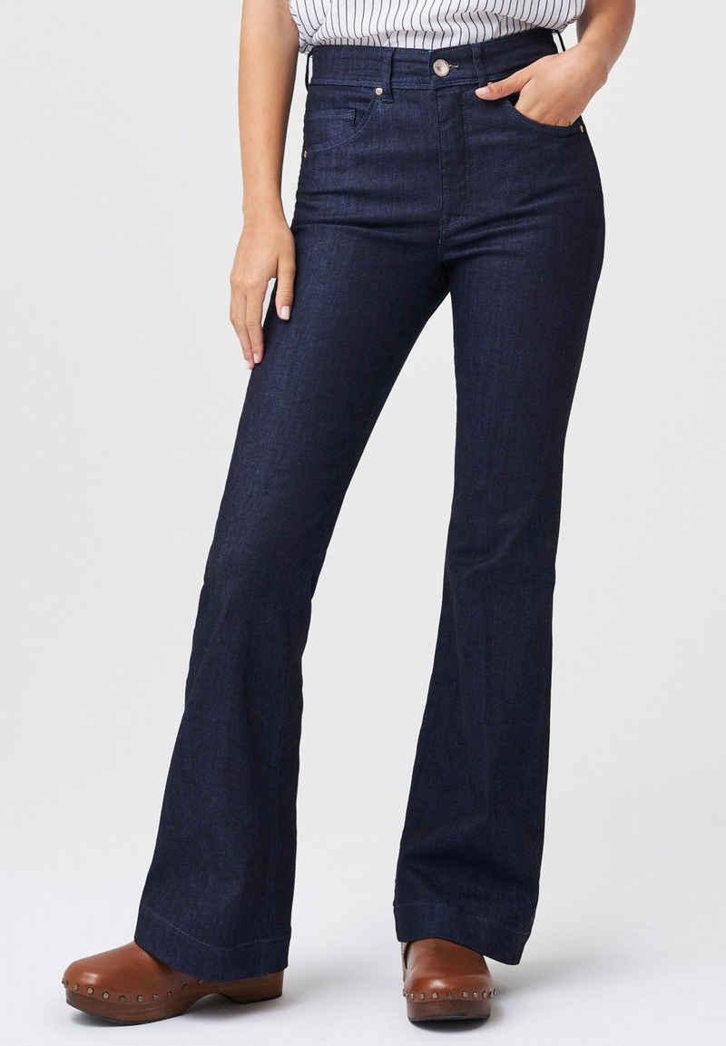 Salsa Regular-fit-Jeans »Secret Glamour« Push In Schlagjeans