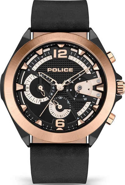 Police Multifunktionsuhr »ZENITH, PEWJF2108740«