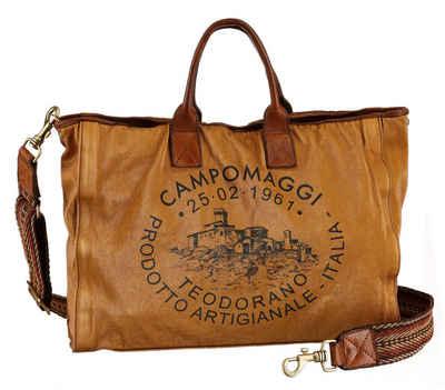 Campomaggi Shopper »Salome«, mit großem Logo Print
