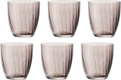 BOHEMIA SELECTION Gläser-Set »Georgia«, Glas, 260 ml, 6-teilig