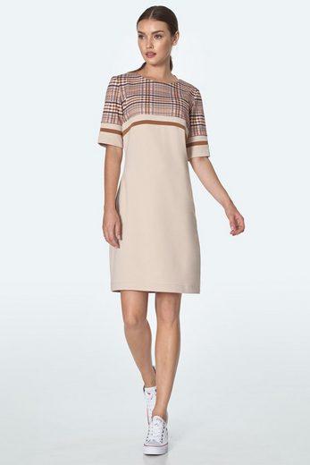 nife Jerseykleid »S160« im tollen Karo-Look
