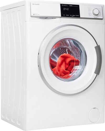 Sharp Waschmaschine ES-HFB7143WD-DE, 7 kg, 1400 U/min