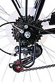 Performance Cityrad, 6 Gang Shimano TOURNEY TZ 500 Schaltwerk, Kettenschaltung, Bild 4