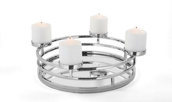 Fink Kerzenhalter »MODENA« (1 Stück), 4-flammig, Adventsleuchter