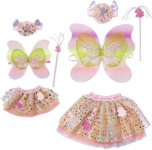 Baby Born Puppenkleidung »Einhorn Partnerlook« (Set, 8-tlg)
