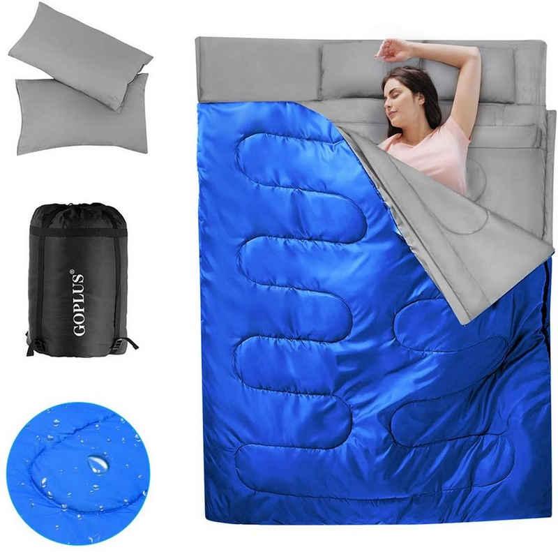 COSTWAY Doppelschlafsack »Doppelschlafsack«