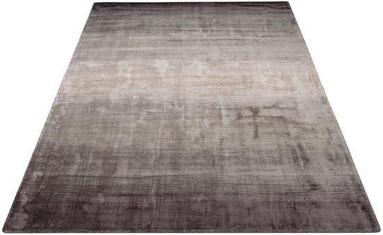 Teppich »Katalin«, Home affaire, rechteckig, Höhe 10 mm, exclusiver Teppich in Seidenoptik