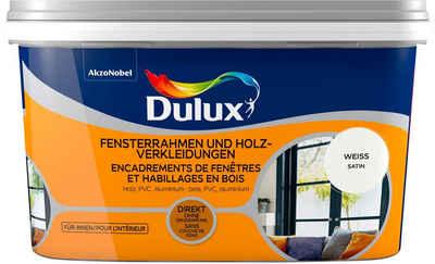 Dulux Holzlack »Fresh Up«, für Fensterrahmen und Holzverkleidungen, weiß, 2 l