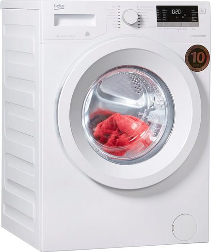 BEKO Waschmaschine WMB 71643 PTS, 7 kg, 1600 U/Min