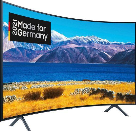 Samsung GU65TU8379U Curved-LED-Fernseher (163 cm/65 Zoll, 4K Ultra HD, Smart-TV, HD+ integriert (6 Monate gratis)