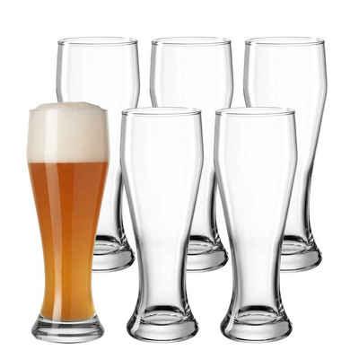 LEONARDO Bierglas »Weizenbierglas Weißbierglas Limited 0,5l Spar-Set«, Glas