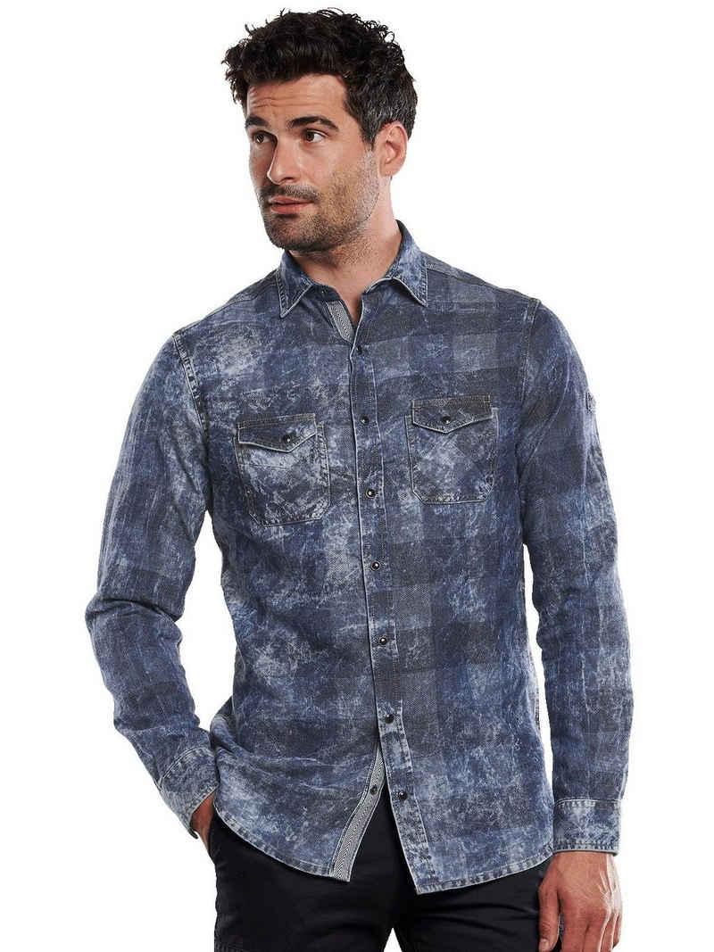 Engbers Langarmhemd »Langarm-Hemd kariert«
