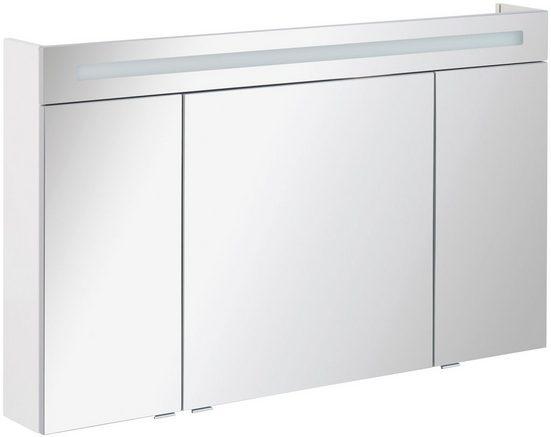 FACKELMANN Spiegelschrank »CL 120 - weiß«, Breite 120 cm, 3 Türen