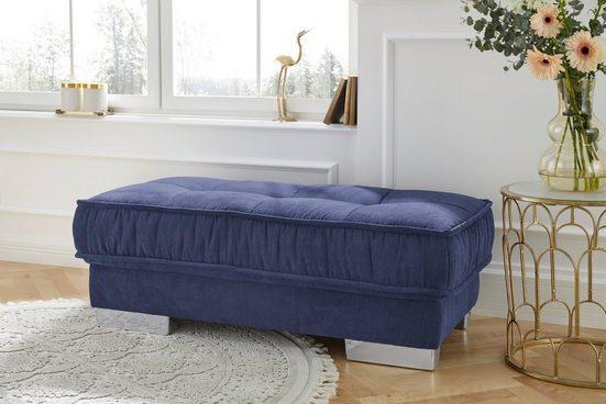 Leonique Polsterhocker »Diwan Luxus«, mit besonders hochwertiger Polsterung für bis zu 140 kg pro Sitzfläche