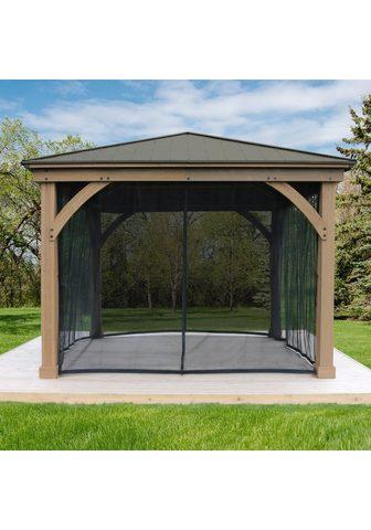 WESTMANN Pavillonseitenteile su 4 Seitenteilen ...