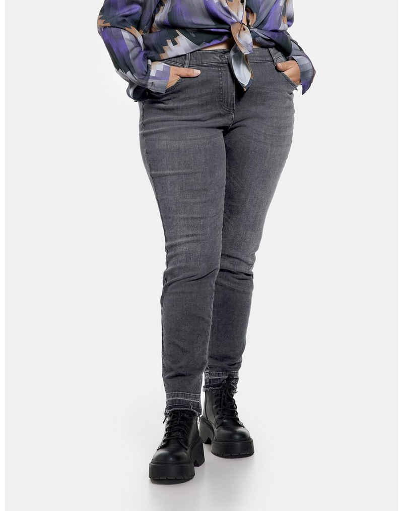 Samoon Stretch-Jeans »Betty Jeans aus Organic Cotton« (1-tlg) 5-Pocket